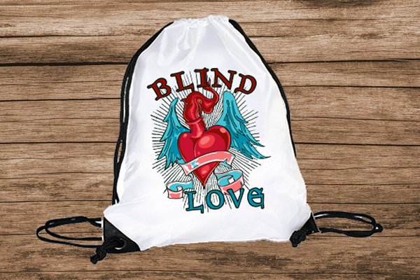 Blind Love Turnbeutel