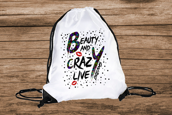 Beauty and Crazy Live Turnbeutel